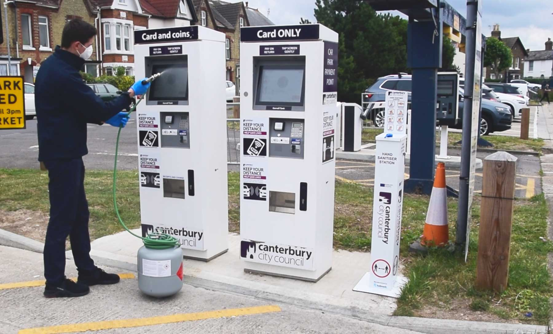Signmark Car park Management E-guard EV charging signage